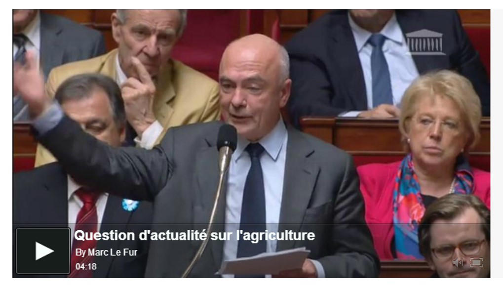 Question d'actualité agriculture