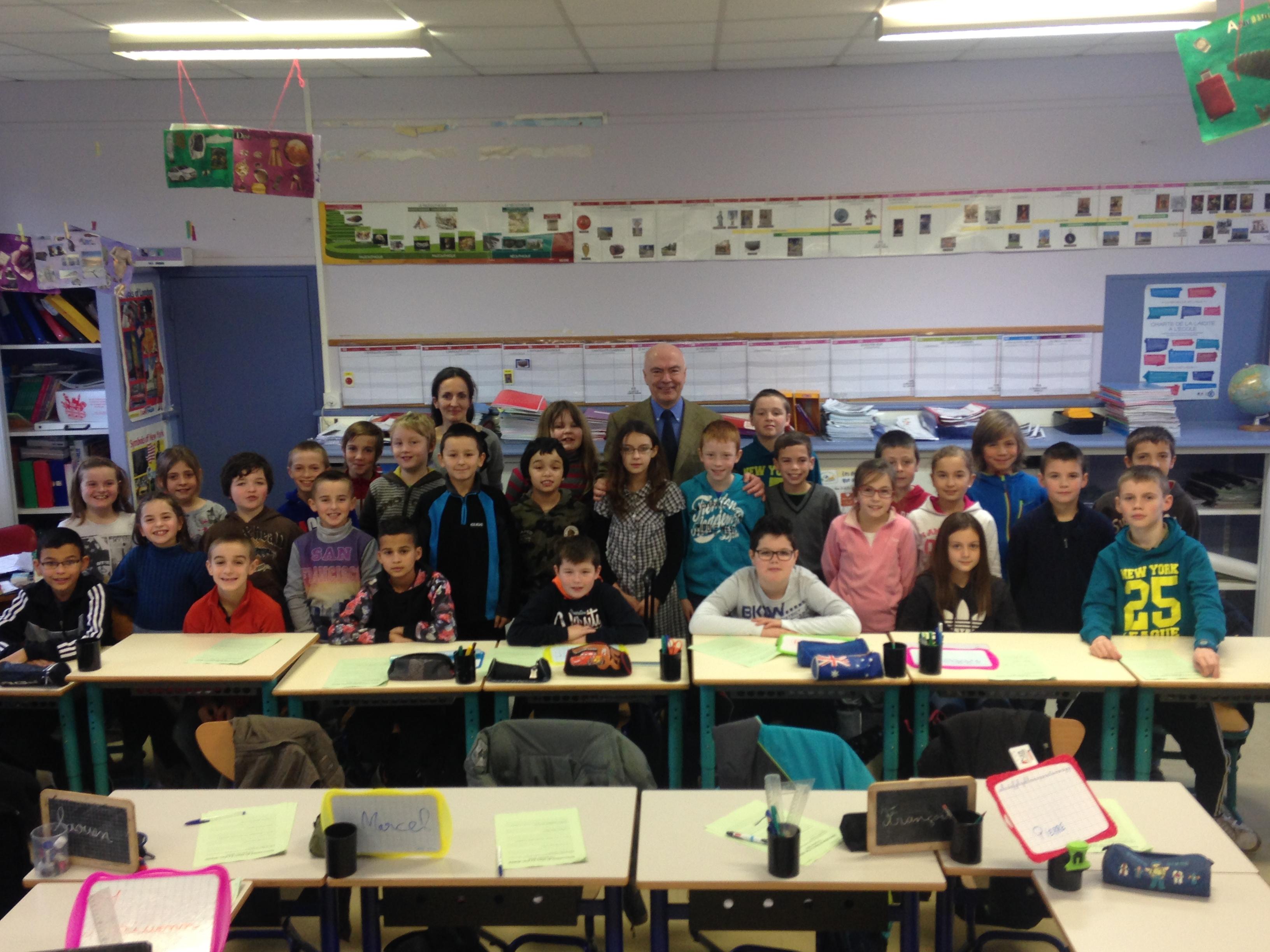 Ecole Jean-Gillet de Plémy Parlement des enfants
